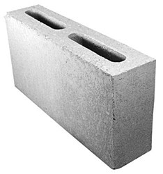 "Partition Block Masonry 4""X8X16"""