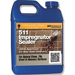 Miracle 511 Impregnator Sealer Pint, 511 PT 6/1