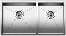 """Quatrus R0 1-3/4 Undermount Kitchen Sink 33X18"""""""