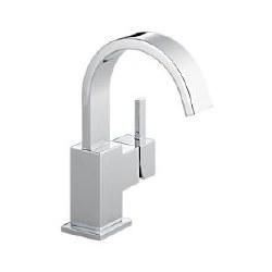 Delta Vero Single Handle Centerset Lavatory Faucet in Chrome