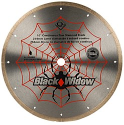 "Black Widow 10"" Diamond Cutting Blade"