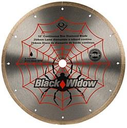 "Black Widow 10"" Diamond Cutting Blade"