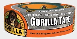 Gorilla Silver Tape 1.88in. x 35yds.