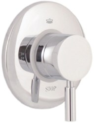 MZ Ceramic Diverter to build, 3 outlets in Satin Nickel