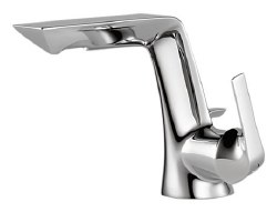 Brizo Sotria: Single Handle, Single Hole, Lavatory Faucet in Polished Chrome