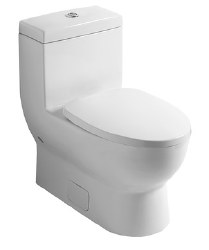 Subway 1-pc Toilet in White Alpin