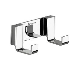 Gravity Double Robe Hook in Polished Chrome