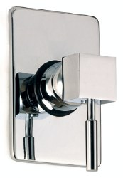 MZ Tetra Trim Only, Shower Only, in Chrome, Rough-in Sold Separately