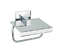 Baño Diseño, Luk Paper Holder with Cover in Chrome