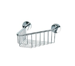 Baño Diseño Cloe Wall Basket No.14 in Chrome