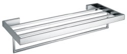 Towel Rack A34 in Polished Chrome