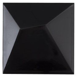 Raven Glossy 6X6 Tile, per box of 6.45 s/f, 26 pcs