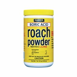 Boric Acid Roach Powder 1lb. (BAR-16)