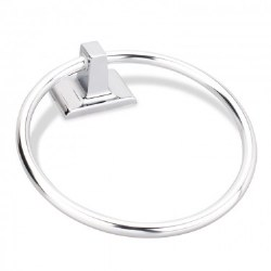 Elements Bridgeport Towel Ring in Polished Chrome
