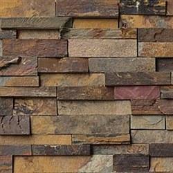 California Gold Quartzite Split Face Ledger Stone, per s/f