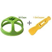 Levolution Caps, 50 pack + De-capper Tool, Part D