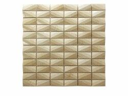 "Diamond Crema Marfil Mosaic on 12X12"" Sheet"