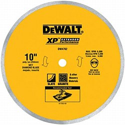 "Dewalt 10"" Porcelain Tile Cutting Blade"