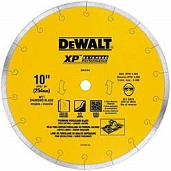 "Dewalt 10"" Premium Porcelain Tile Cutting Blade"
