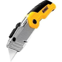 Dewalt Retracable and Folding Utility Knife