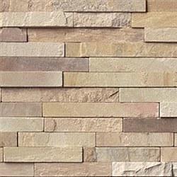 Fossil Rustic Sandstone Split Face Ledger Stone, per s/f