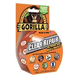 Gorilla Clear Repair Tape 1.88in. X 27ft.