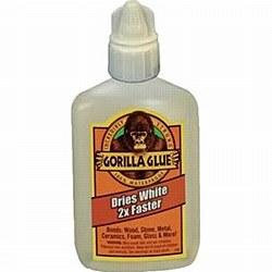 Gorilla Glue Dries White 2oz.