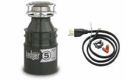 Badger 5 Garbage Disposal with Power Cord Included