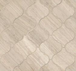 Ashen Grey Arabesque Mosaic Honed 12.25X13.25, per sheet