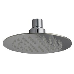 "Re-Vive, 6"" Round Shower Head in Brushed Nickel"