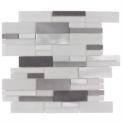 Avalanche Metal Mosaics on 12x14 Sheet