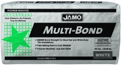 Multi-bond Polymer Modified Thinset Mortar White, 50lb.