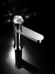 Muse Stage Diamond Swarovski Faucet in Chrome