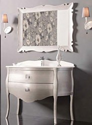 Paris No.2 Vanity Set in Silver Gloss 44.8""