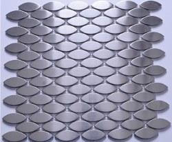 Stainless Steel Eye Mosaic on 12.12X11.33 Sheet