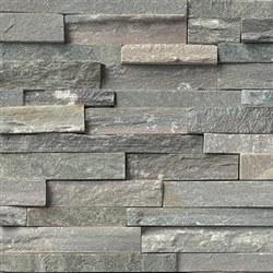 Sierra Blue Quartzite Split Face Ledger Stone, per s/f