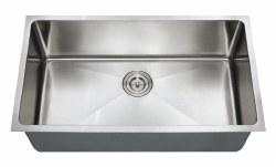"""Chef Series 32X18"""" Undermount 16 gauge Kitchen Sink"""