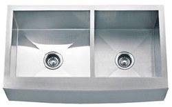 Farmhouse Stainless Steel Kitchen Sink 33 X 20 Double Bowl