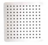 "Ultrathin 12"" Square Shower Head in Matte White Finish"