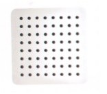 "Ultrathin 8"" Square Shower Head in Matte White Finish"