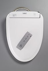 Toto Washlet S300e Elongated in Cotton White