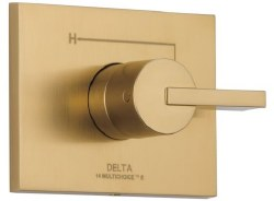 VERO, Monitor 14 Series Valve Only Trim, in Champagne Bronze