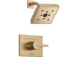 VERO, Monitor 14 Series H2Okinetic Shower Trim, in Champagne Bronze