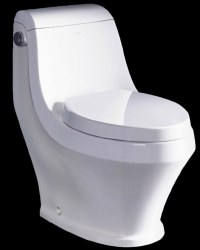 T-133 1-PC Elongated 1.28GPF Toilet, in White, TB133