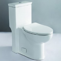 T-377 1-PC ADA Elongated 1.28 GPF Toilet, in White, TB377