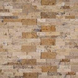 Tuscany Scabas Travertine Ledger Stone, per s/f