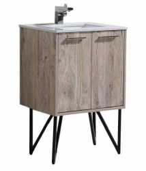 "Canyon 24"" Vanity Set with LED Mirror & Faucet"