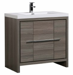 "Granada Novo 36"" Vanity Set in Maple Grey"