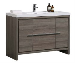 "Granada Novo 48"" Vanity Set in Maple Grey"