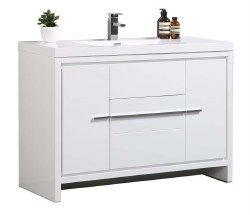 "Granada Novo 48"" Vanity Set in White"